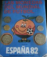 Serie De Monedas Del Mundial De Fútbol España 1982, Con Su Mascota El Naranjito -  - ebay.es