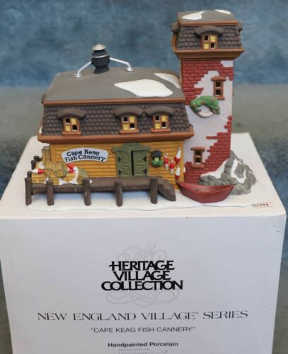 DEPT 56 CAPE KEAG FISH CANNERY  HERITAGE SNOW VILLAGE 5652-9 CHRISTMAS