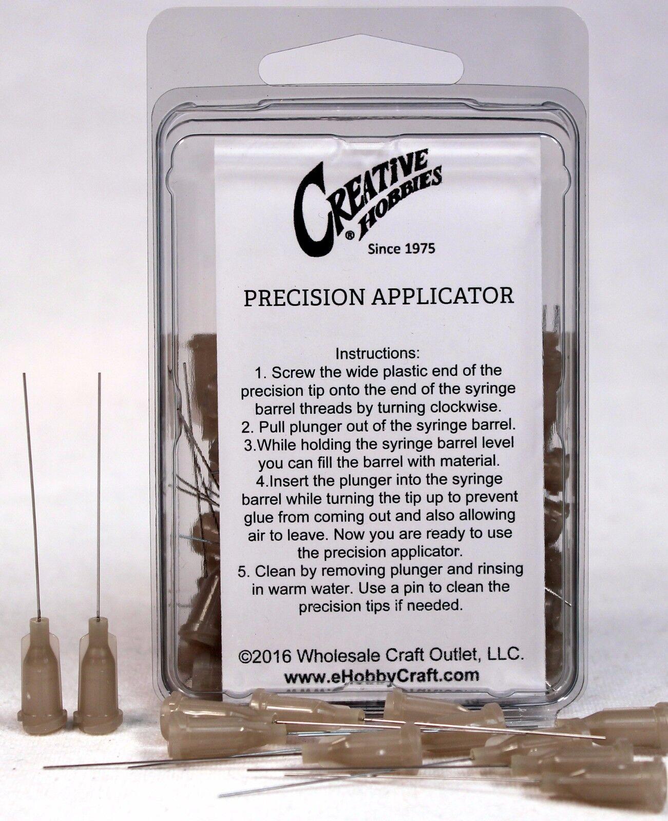 27 Gauge 1.5 Inch, Precision Applicator Dispensing Needle Tips, 50 Pieces Adhesive Guns & Dispensers