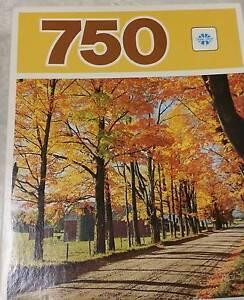 750 PIECE JIGSAW NEW by COPP CLARK, CANADA autumn $7, 52 x 49cm Broadview Port Adelaide Area Preview