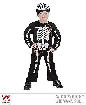 Gerippe Halloween Kostüm für Kinder Overall 124994K13 (Halloween-kostüme Für 13)