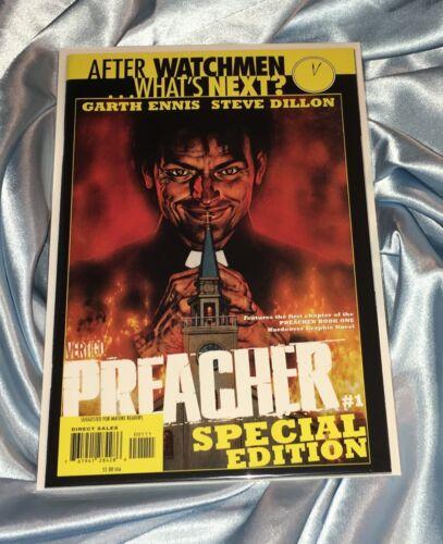 PREACHER #1~SPECIAL EDITION~ENNIS/DILLON~AMC TV SHOW~JESSE CUSTER~DOMINIC COOPER