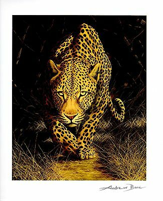 """ANDREW BONE """"AFRICAN MYSTIQUE"""" SERIOLITHOGRAPH~PARK WEST~FREE SHIPPING"""