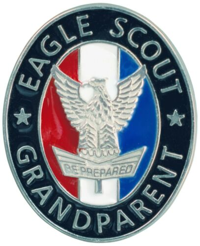 Boy Scouts of America Eagle Scout Grandparent Enamel Pin for Court of Honor