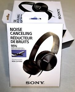 New! Sony Noise Cancelling Headphones