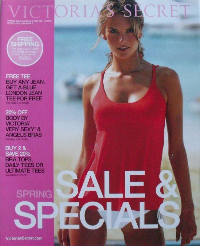 ALESSANDRA AMBROSIO Spring Sale & Specials  2006 VICTORIA