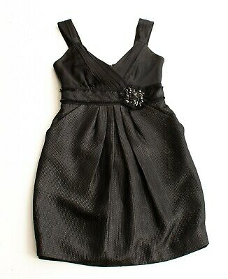 BCBG MAXAZRIA Applique Sleeveless Jacquard Dress In Black Size 2  for sale  Shipping to Canada