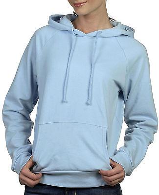 Bella Ladies' Hoodie Pullover Sweatshirt,  Light Blue
