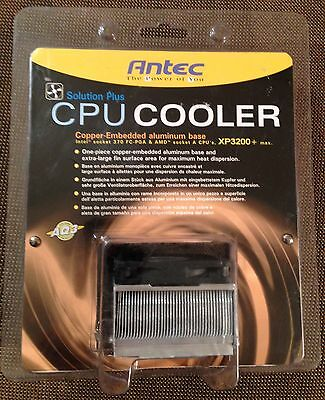 Antec CPU Cooler Intel Socket 370 AMD Skt A 3200+ XP Low Profile 2U Pentium III