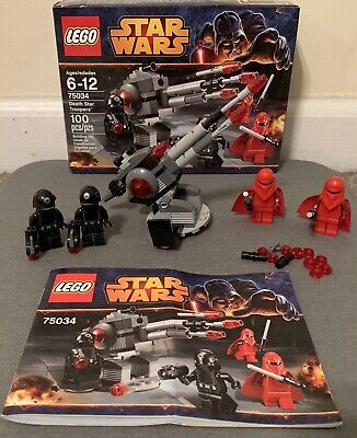 LEGO Star Wars 75034 Death Star Troopers Complete Set. Comes With Box & Spares!
