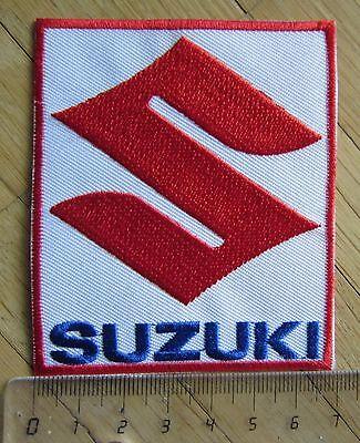 Aufnäher / Aufbügler/ Patch: SUZUKI - Logo C - Rar!