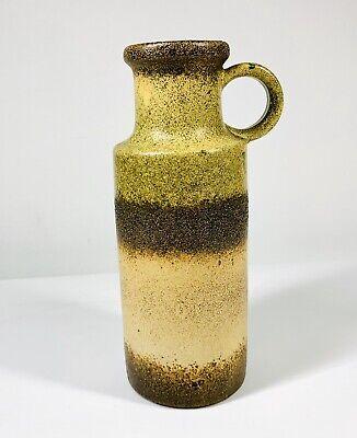 W Germany pottery vase Scheurich 401/20 Mid Century Modern Bottle Vase