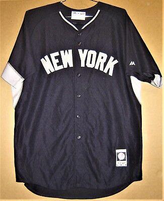 - NEW YORK YANKEES #2 DEREK JETER ROAD BATTING PRACTICE AUTHENTIC JERSEY