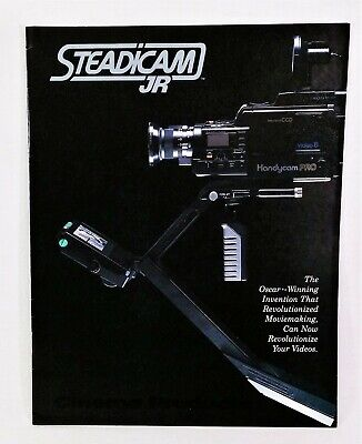 Vintage Sony Steadicam Jr. Video 8  Camera Handycam Brochure, 11 pp  for sale  Shipping to India
