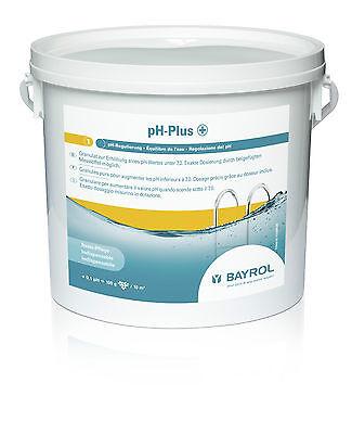 BAYROL pH PLUS GRANULAT 5 kg EIMER / FREI HAUS / Complete Algen Chlor Pool pH