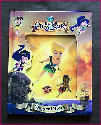 Tinkerbell Story Book (TINKERBELL & the PIRATE FAIRY Magical Story - Disney Hardcover Book 3D cover)