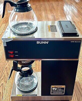 Bunn Vpr Series Coffee Maker 2 Warmers 2 Decanters 1 Brew Basket