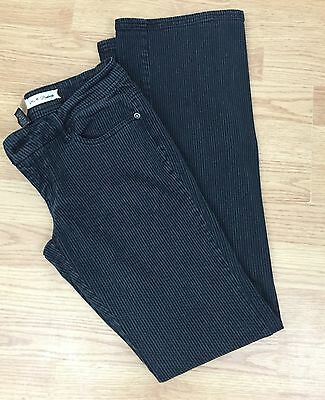 BB DAKOTA Jeans Pants Black and Gray Pinstripe Size 3 Juniors ()