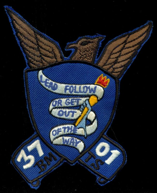 USAF 3701st BMTS Basic Military Training Squadron Patch CT4