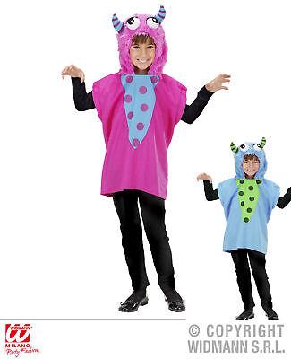 Kleine Monster Kostüm, blau, rosa  Mädchen, 110-116, 128-134