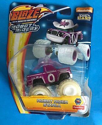 Blaze And The Monster Machines Die-Cast Robot Rider Starla NEW Nickelodeon NIB (Monster Machine)