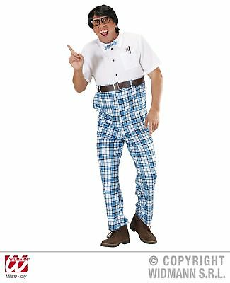 Nerd Kostüm Streber Streberkostüm Loser Gr M 50-52  Fachidiot