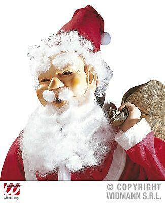Lachende Weihnachts-Maske Weihnachtsmannmaske Santa Claus - Santa Claus Maske