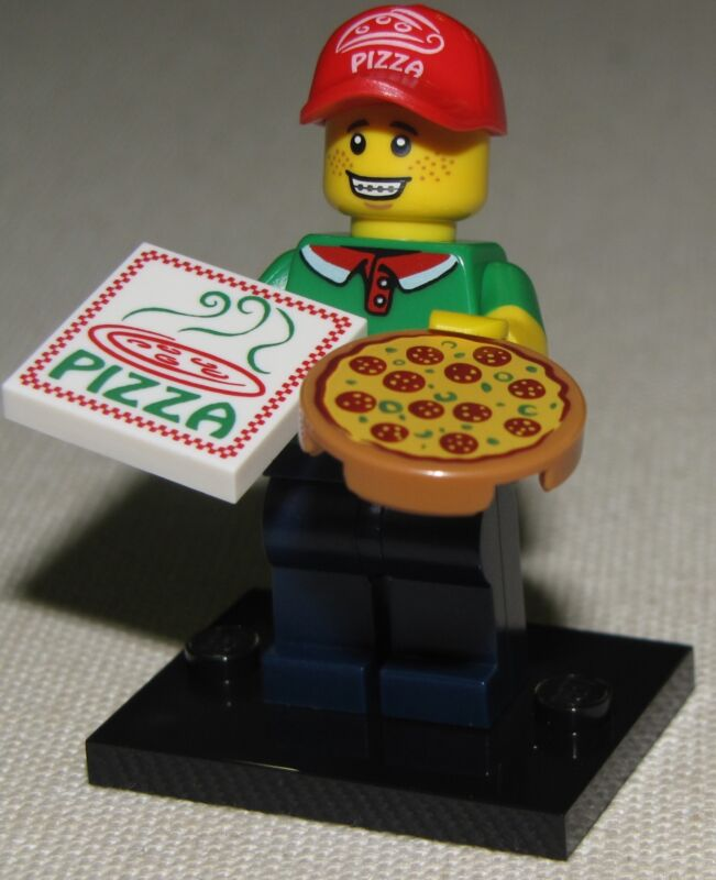 LEGO NEW SERIES 12 MINIFIGURES 71007 YOU PICK MINIFIGS UNUSED ONLINE GAME CODE  Pizza Delivery Man