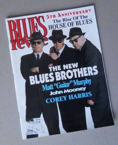 BLUES REVUE 23 – JUNE 1996 – NEW BLUES BROTHERS COVER – USED IN GREAT CONDITION
