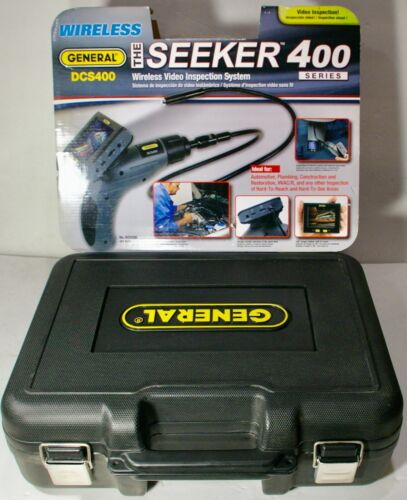 GENERAL DCS400 The Seeker 400 Wireless Video Inspection Camera System  NEW