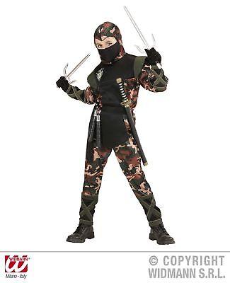Verkleidung Ninja Krieger Kinder Gr.158 cm Kostüm Soldat Ninjakämpfer