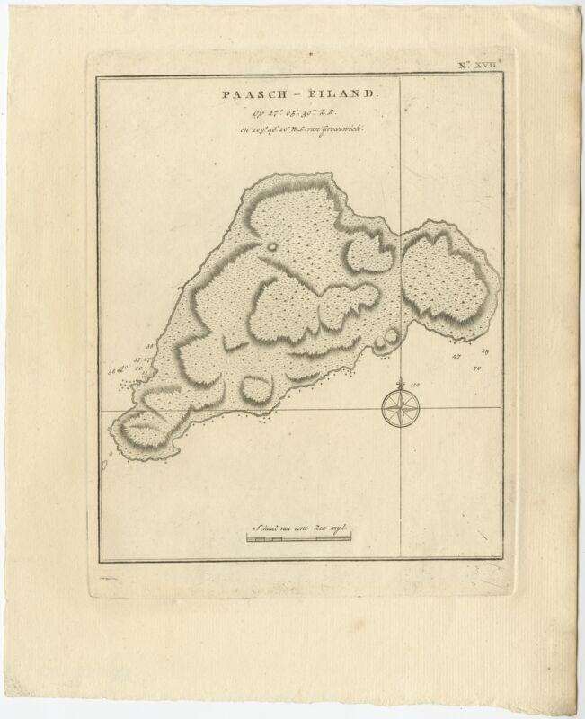 Paasch-Eiland - Cook (1803)