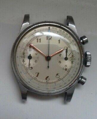 Vintage Dodane Chronograph Watch Valjoux 23