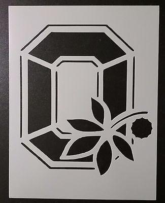 "Ohio State Buckeyes 8.5"" x 11"" Custom Stencil FAST FREE SHIPPING"