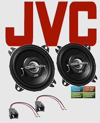 JVC Lautsprecher für PEUGEOT 206CC Bj. 2000 - 2007 hinten 2-Wege Koax 210 Watt