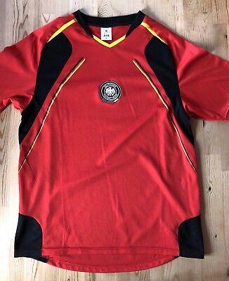 DFB Fantrikot Fussball Gr. M Rot Red