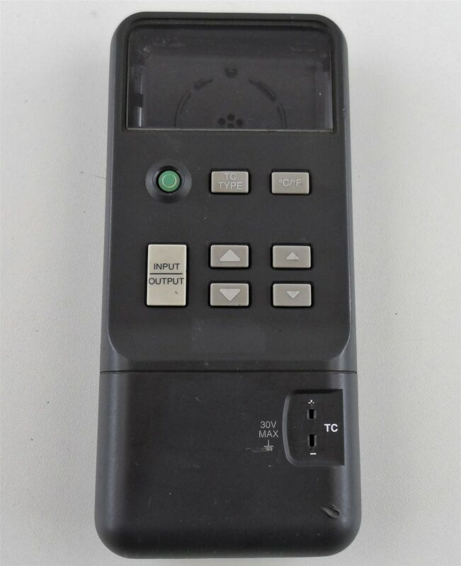 Fluke 714 Thermocouple Calibrator Shell and Button Membrane For Parts or Repair