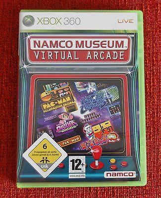 Microsoft Xbox 360 - 34 Spiele Arcade Namco Museum Pac-Man Galaxian Dig Dug etc, gebraucht gebraucht kaufen  Deutschland