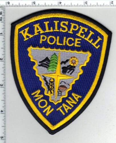 Kalispell Police (Montana) Shoulder Patch - new from the 1980