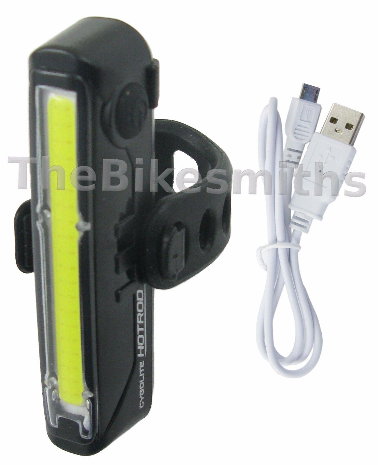 CYGOLITE HOTROD 110 LUMEN USB RECHARGEABLE LED 6 MODE BICYCL