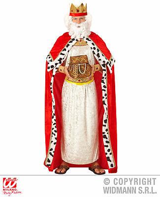 Königsumhang mit Krone - Gr. XL - Biblischer - Biblische Kostüme