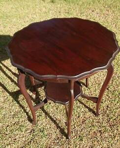antique timber corner table Bayswater Knox Area Preview