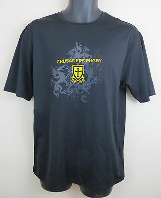 Zorrel Crusaders Rugby Union Shirt Top Tee Jersey Canada Mens Large L Canada Rugby Jersey