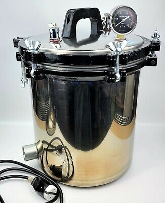 18 Liters Xfs-280a Portable Stainless Steel Pressure Steam Medical Autoclave