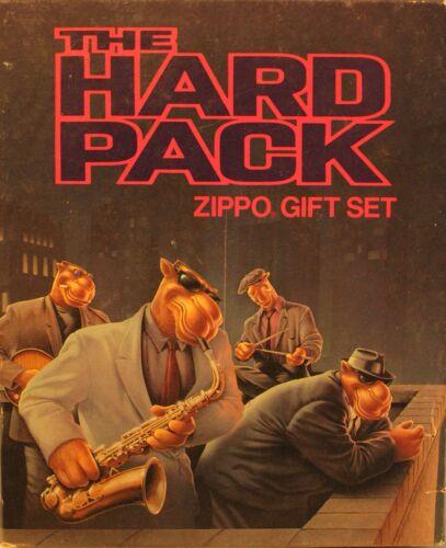 "Vintage 1993 Camel Zippo ""Hard Pack Gift Set"" New Unstruck w/Original Box"
