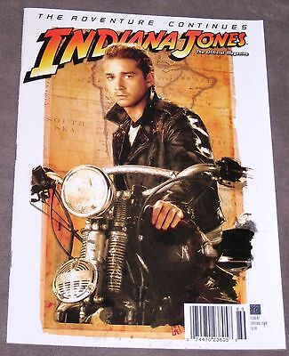 Indiana Jones The Official Magazine  2 July Aug 2008  Shia Labeouf Cover B
