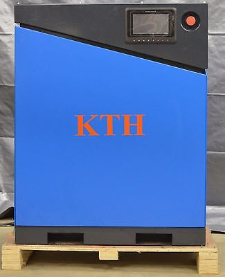 Kth-20hp New Vsd Direct Drive Screw Air Compressor 71cfm W Kth Air Dryer Combo