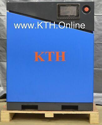 Kth-10hp 35 Cfm 110 Psi Vsdvfd Drive Screw Air Compressor W Air Dryer