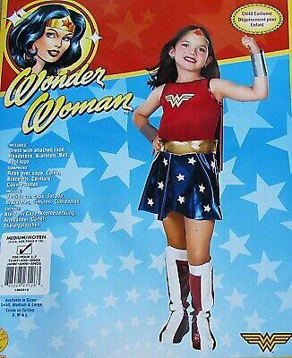 Top 5 Halloween Costumes For Girls (WONDER WOMAN HALLOWEEN COSTUME DRESS  BOOT TOPS SUPER HERO GIRLS M AGES 5-7)