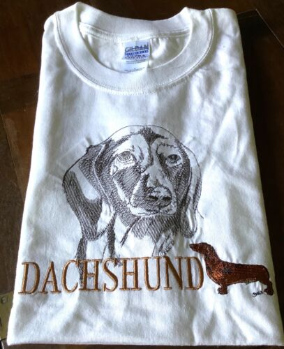 Dachshund Embroidered Dog Shirt Free Shipping!